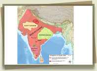 Kingdoms of south India - 1320