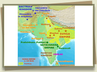 Sunga Empire 185 BC