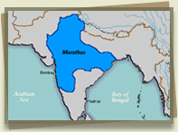 The Maratha Empire in 1760